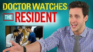 Real Doctor Reacts to THE RESIDENT | Medical Drama Review | Doctor Mike