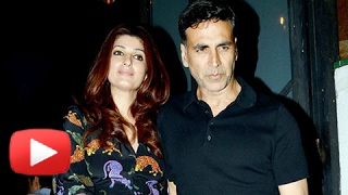 Akshay Kumar and Twinkle Khanna Spotted in a Valentine's Day Party