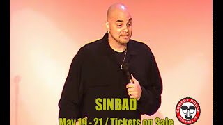 Sinbad @ the Comedy House, Columbia SC