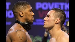 Anthony Joshua Vs Joseph Parker WEIGH-IN RESULTS!!!