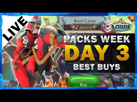 Xxx Mp4 BEST BUYS PACKS WEEK DAY 3 LORDS MOBILE MISTER BP GAMING 3gp Sex