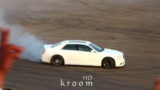 درفت كرايسلر SRT8 في حلبة ديراب 4 أبريل | كروم HD