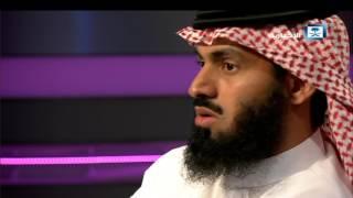 ستوديو رمضان مع اللاعب السابق سعد الحارثي