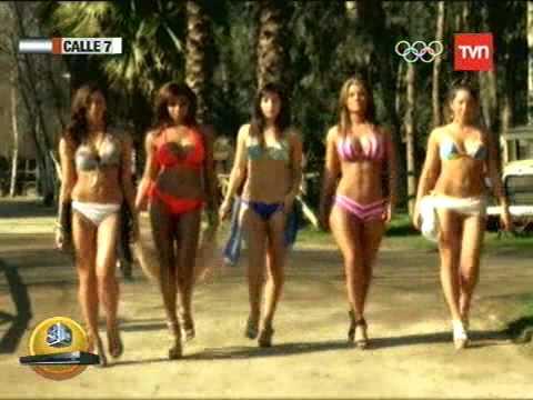 Calle 7 Décima Temporada La Sensualidad De Las Chicas Del Programa 06 08 2012