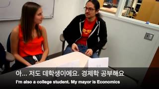 Korean 1: Oral Exam (with subtitles)