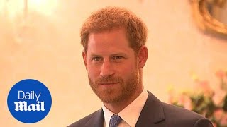 Prince Harry says football is 'most definitely' coming home