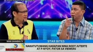 BT: Nakatutuwang harapan nina Rody Juterte at P-Nyoy, patok sa viewers