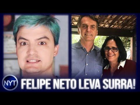 Xxx Mp4 Felipe Neto Leva Uma SURRA De Ministra Do BOLSONARO E Dá Seus Pulos Para Tentar Reverter A Situação 3gp Sex