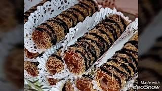 حلويات 2018 سيقار  القطايف  مع سوسن قاطو saoussan gâteaux