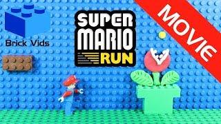 Lego Super Mario Run - Lego Mario Run Funny Parody - Lego Mario Stop Motion Movie - Lego Bowser