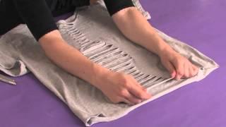 How to Cut Shirts Like Ed Hardy : Shirt Modifications