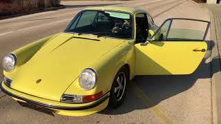 Porsche 911 1972 2.4S Hellgelb