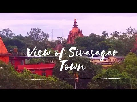 View of Sivasagar Town