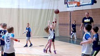 👧🏀ONLY GIRL ON BOYS BASKETBALL TEAM MAKES GAME WINNING SHOT! DYCHES FAM