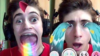 EFFETTI EPICI SULLA FACCIA!! (Snapchat)