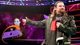 The Brian Kendrick transforms Gentleman Jack Gallagher into a clown: WWE 205 Live, July 25, 2017