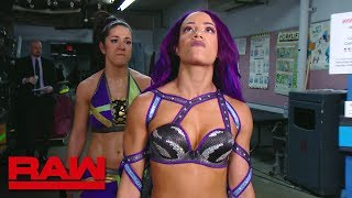 Sasha Banks is done being Bayley's friend: Raw, June 18, 2018