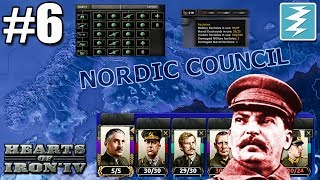 ANGRY STALIN AND BIG FONTS [6] How To Form The Nordic Empire - Hearts of Iron IV