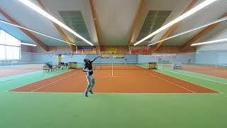 135 ROSENHOF darek CUP. Main Tour(1/4F)S.HORODECKI vs J.GŁĘBOCKI 2/6 6/2 10/4