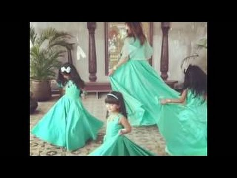 Lakshmi Manchu With Lovely Adorable Cute Girls Vidya Nirvana , Ari,Vivi  - Awww Superb Video