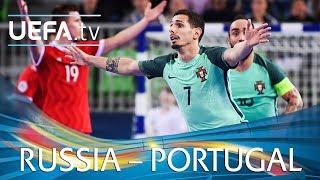 Futsal EURO highlights: Russia v Portugal