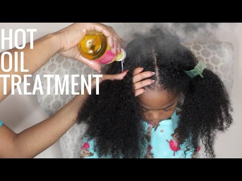 Tailored Beauty Hot Oil Treatment for Dry Hair | All Ages
