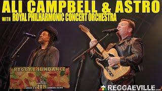 Ali Campbell & Astro of UB40 with Royal Philharmonic Concert Orchestra @Reggae Sundance 2014