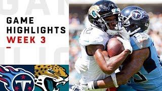 Titans vs. Jaguars Week 3 Highlights   NFL 2018