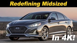 2018 Hyundai Sonata 2.0T Review and Road Test In 4K!