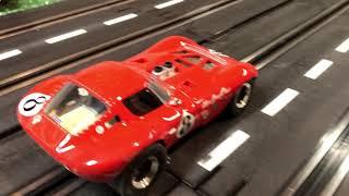 Artin Pro 1/32 slot car track Carrera Cheetah