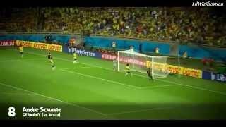 World Cup 2014 - Top 10 goals