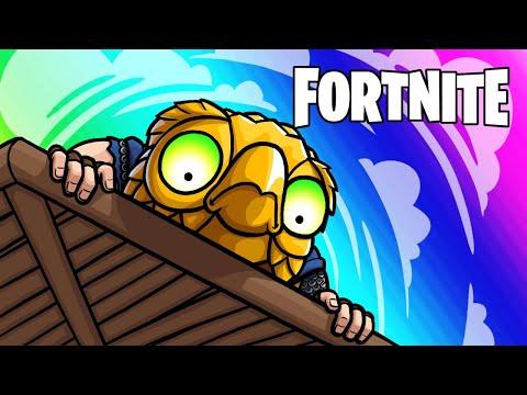 Fortnite Funny Moments - More Skybridges and Major Barn Fail!