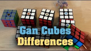 Gan Cubes Compared - What's the difference?
