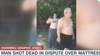Video Shows Father And Son Shoot And Kill Unarmed Man Over Trash Dispute!