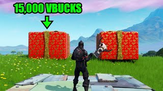 Pick The Right Present, Get 15,000 VBUCKS - Fortnite