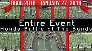Full Battle - 2018 Honda Battle of The Bands HBOB BOTB