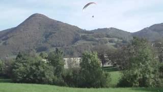 Velerio atterraggio corto al Farno