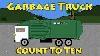 Vids4kids.tv - Garbage Trucks - Count To Ten