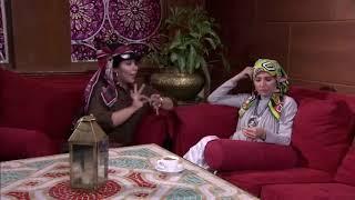 نونة المأذونة - الفنانة إيمان السيد في مشهد كوميدي مع حنان ترك .. اليسا نفسها تطلع مذيعة