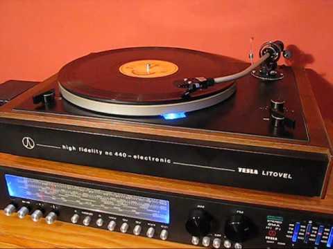 Test gramofonu Tesla NC 440 814A HiFi