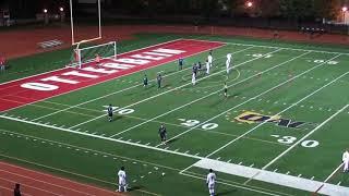 Medaille Men's Soccer - 2017 NCAA Tournament - First Round vs. #10 Otterbein