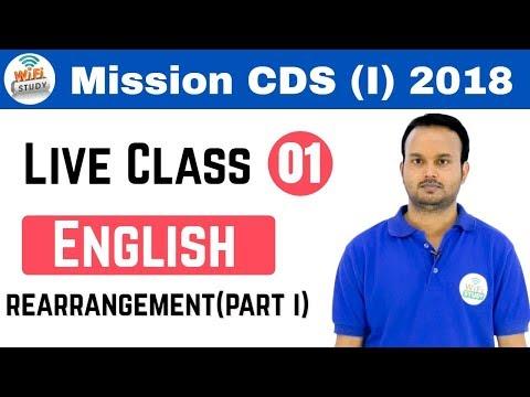Xxx Mp4 12 00 Pm Live Session By Sanjeev Sir Mission CDS I AFCAT 1 2018 Rearrangement Day 01 3gp Sex