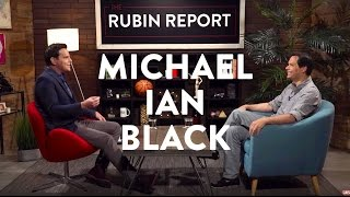 Michael Ian Black and Dave Rubin Talk Hillary, Trump, and Black Lives Matter (Full Interview)