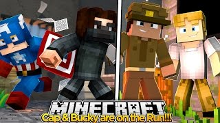 Minecraft Adventure - ON THE RUN WITH THE WINTER SOLIDER!!!