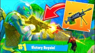 THE #1 MOST FUN WEAPON in Fortnite Battle Royale! NEW *LMG* GAMEPLAY!
