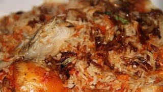 Delicious Bangladeshi Recipe: Shahi Chicken Biryani w/ English Subtitles