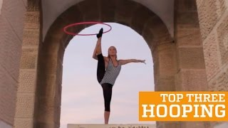 TOP THREE HULA HOOP | PEOPLE ARE AWESOME 2016