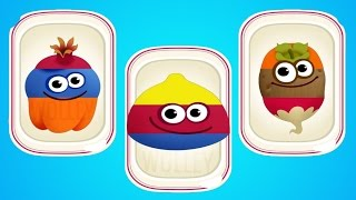 Learn Colors & Shapes with Funny Food for Children - Funny Foods 2 Kids Learning Games by Mage