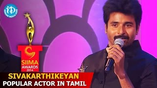 Sivakarthikeyan - Popular Actor In Tamil - Ethirneechal Movie - SIIMA 2014