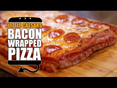 Little Caesar s Bacon Wrapped Deep Deep Dish Pizza Recipe